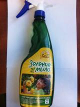 Зелёное мыло — для защиты растений спрей 700 мл.