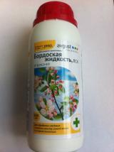 Бордоская жидкость  от болезней (фунгицид)  500 мл.