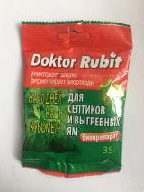 Средство для выгребных ям и септиков Doktor Rubit, 35 г.