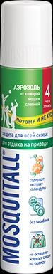 Москитолл Защита для взрослых Аэрозоль от комаров, 100 мл.