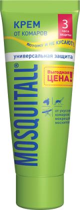 Москитол крем «Универсальная защита» от комаров, 75 мл.
