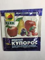 Медный купорос - антисептическое и фунгицидное средство, 100 г.