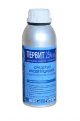 Инсектицидное средство от  насекомых Первит 25% к.э., 1 л.