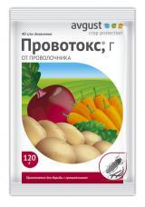 Провотокс - эффективный препарат для защиты от проволочника, 120 г.