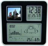 Цифровая метеостанция со встроенным фотоальбомом